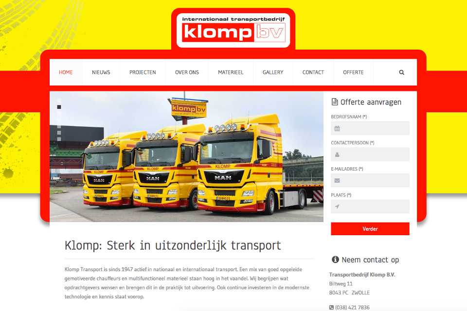 Klomp Internationaal Transport